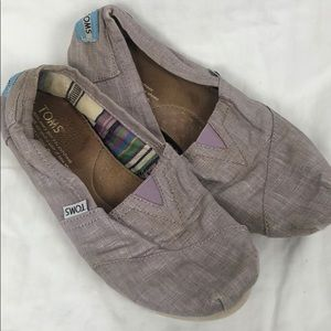 Toms women's size 7 pink